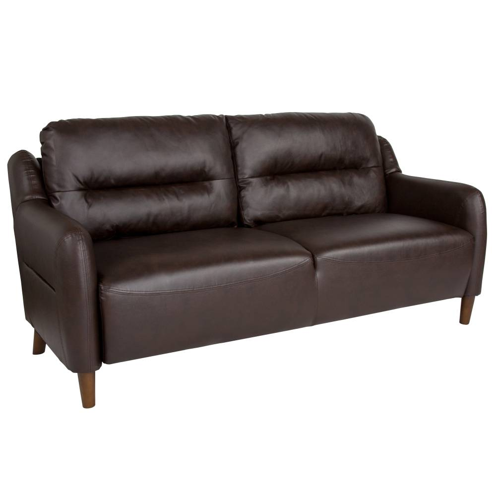 Fendon Hill Brown LeatherSoft Sofa