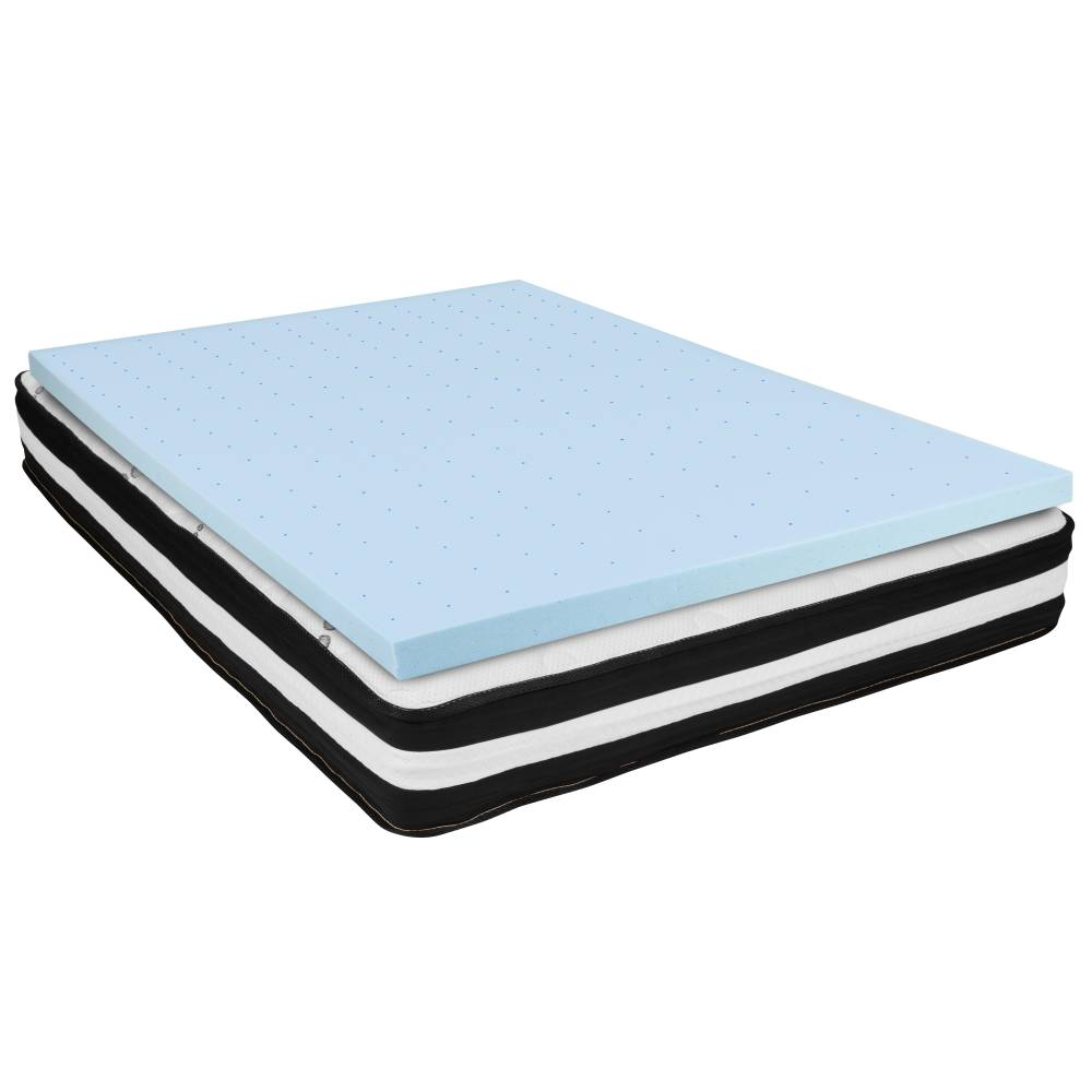 "10"" Mattress and Topper Bundle"