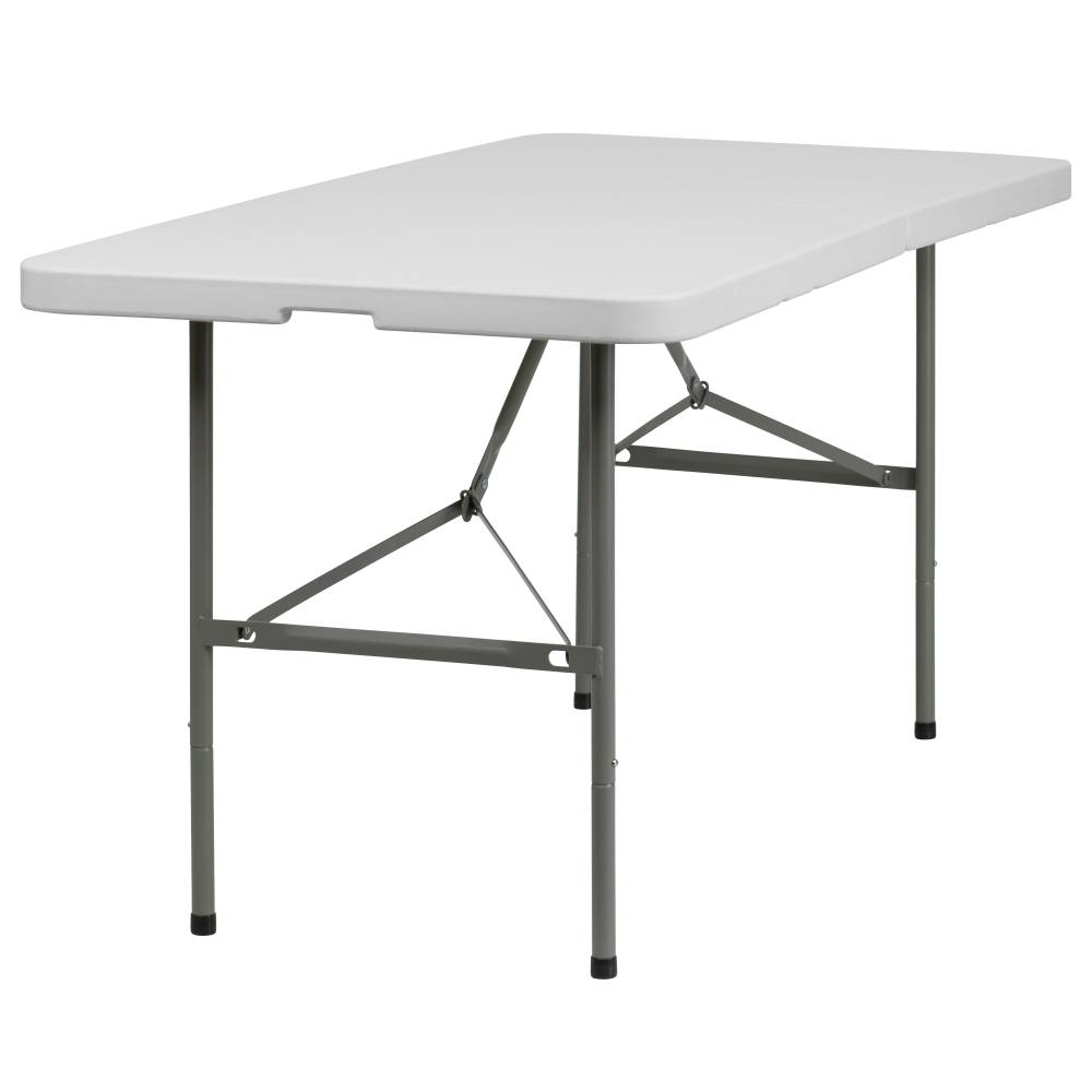 30x60 White Bi-Fold Table