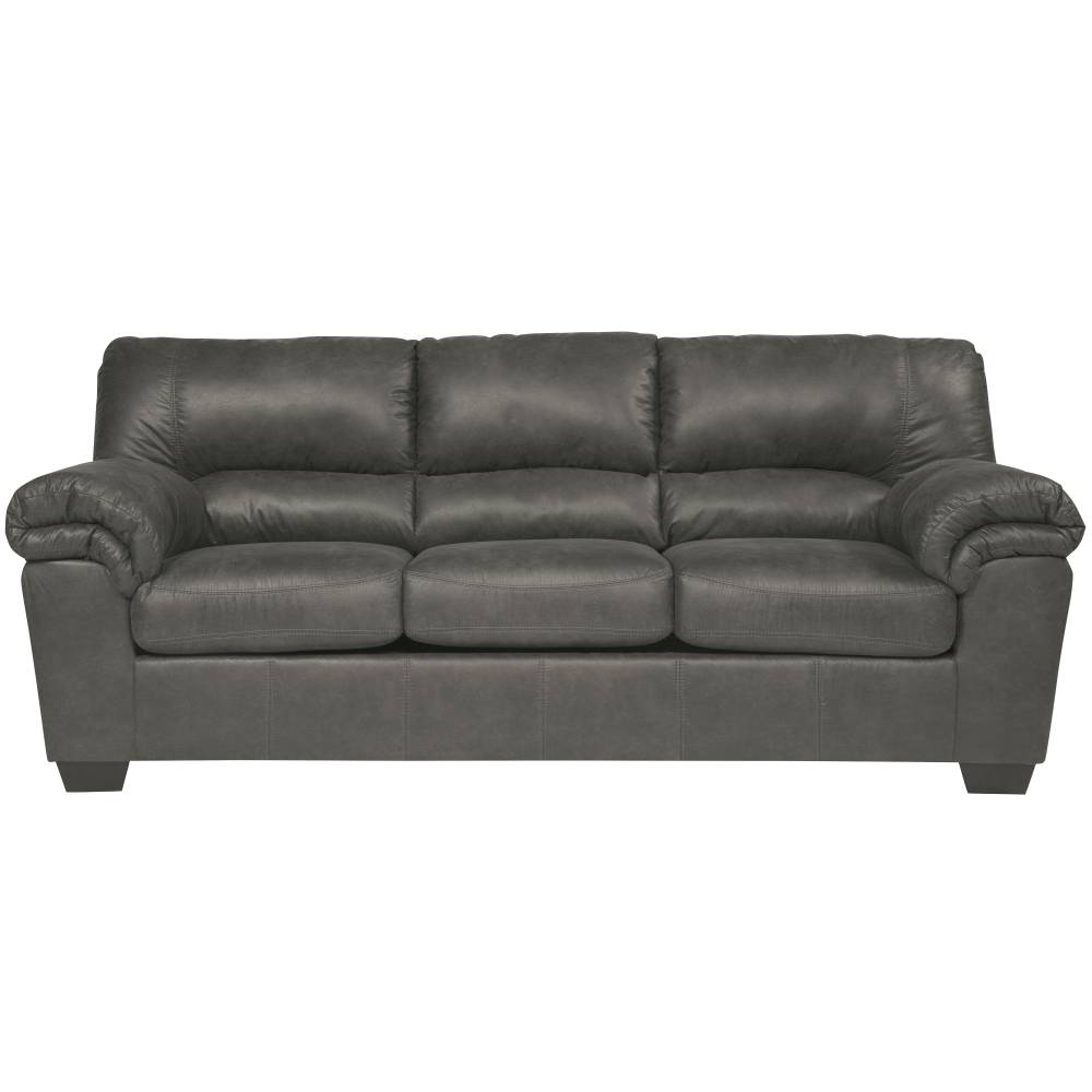 Slate Leather Sofa