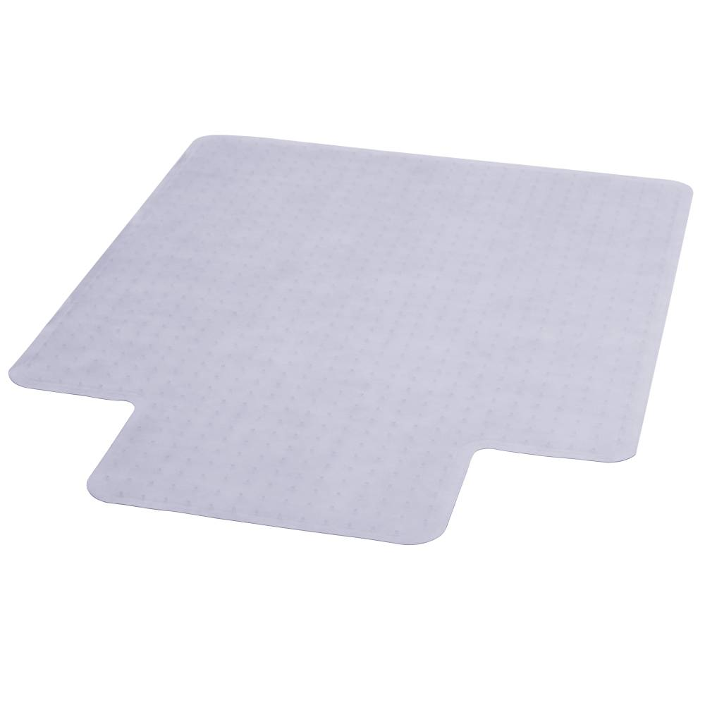 36x48 Clear Chair Mat-Lip