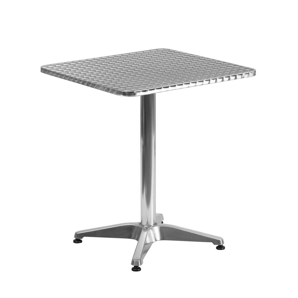 23.5SQ Aluminum Table