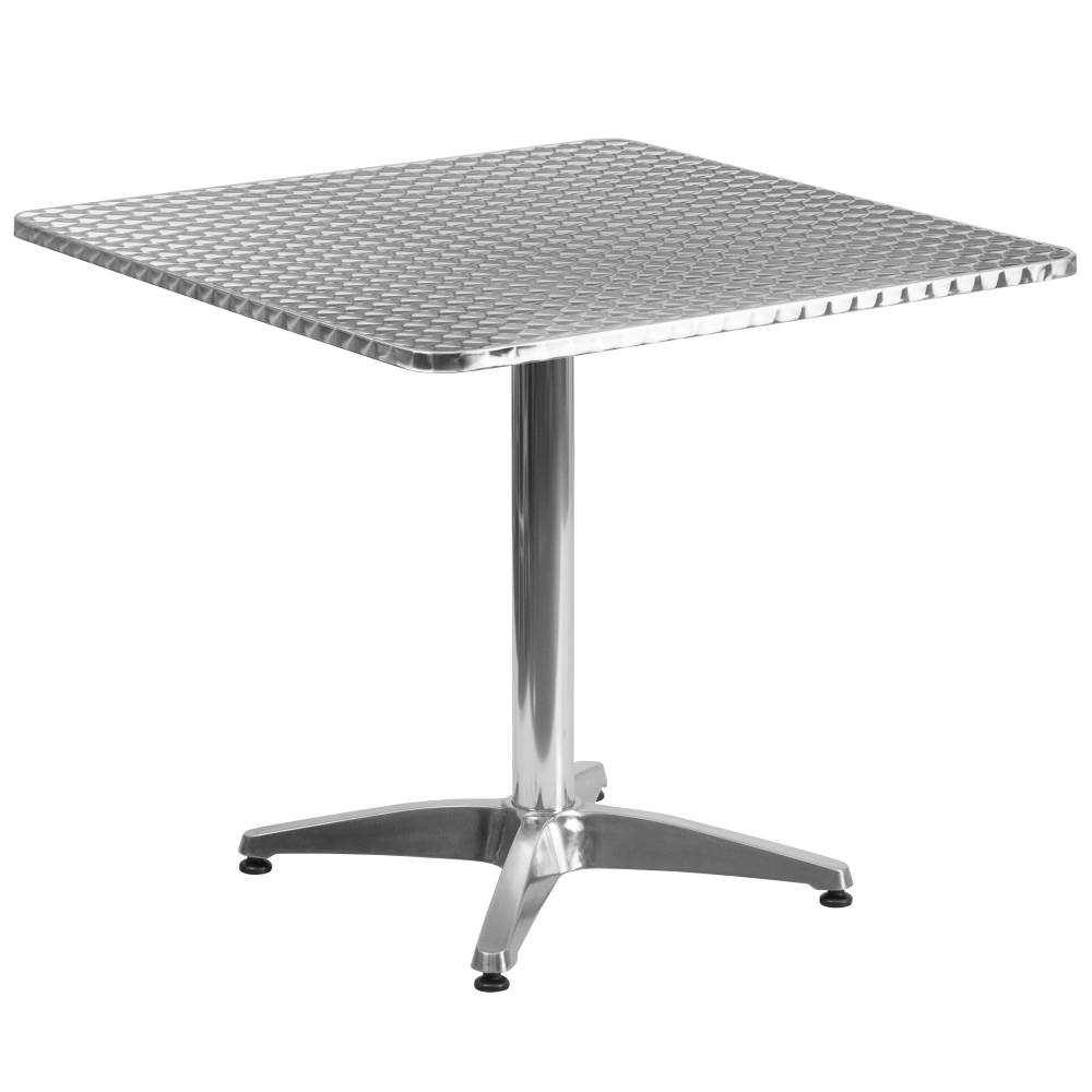 31.5SQ Aluminum Table