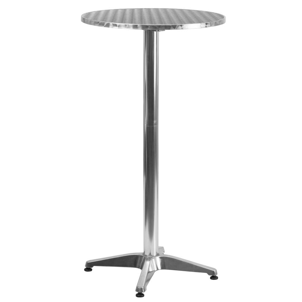 25.5RD Aluminum Fold Bar Table