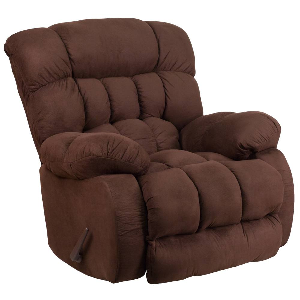 Fudge Microfiber Recliner