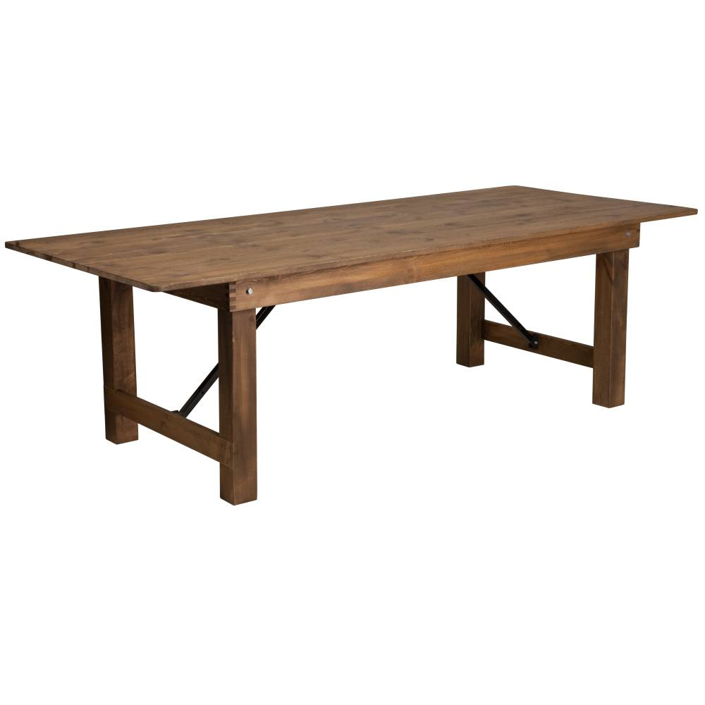 "8'x40"" Folding Farm Table"